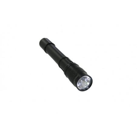 Small Sun ZY-713 LED 40lm White Mini Flashlight - Black (2 x AAA)