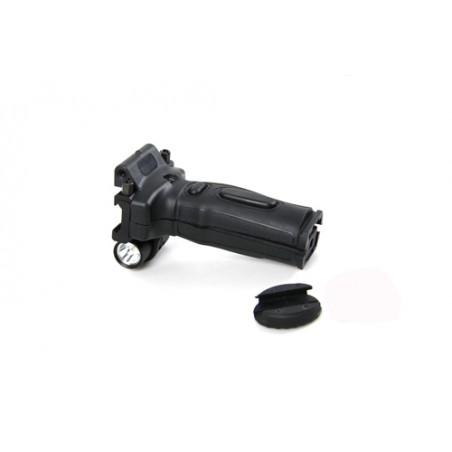 Tactical Grip with Flashlight & Red Laser [Black Eagle Corporation ]