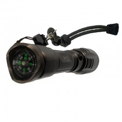 Lampe Flashlight Black Eagle T6
