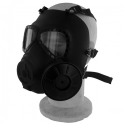 Masque à Gaz Black Eagle Noir