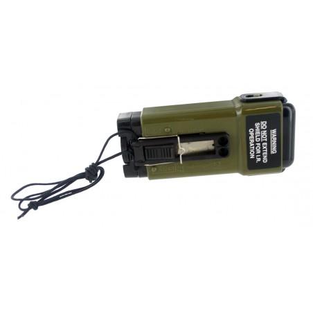 tactical hand-held flashlight  [Black Eagle Corporation]