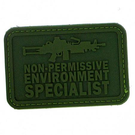Patch pvc non permissive environnement specialist olive