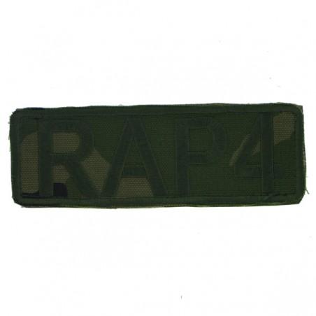 Patch aisoft Tissu RAP4 cam petit model