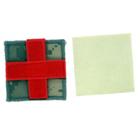 Patch tissu croix rouge cam DIGI