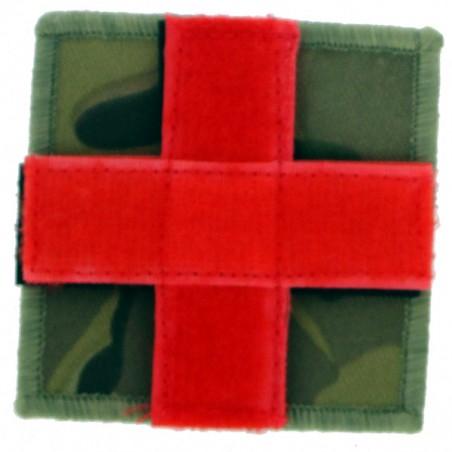 Patch tissu croix rouge cam CE