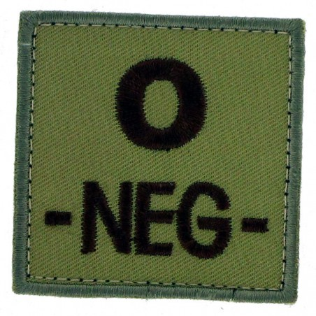 Patch TISSU groupe sanguin O- beige