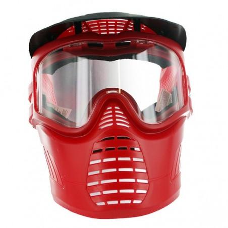 Masque de paintball GXG Rouge