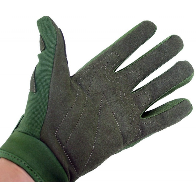 Gants Airsoft Mil Star Olive Gloves BE XL