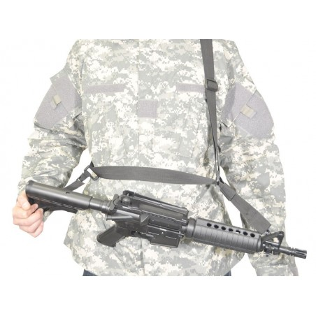 Sangle 3 Points Noire Swiss Arms