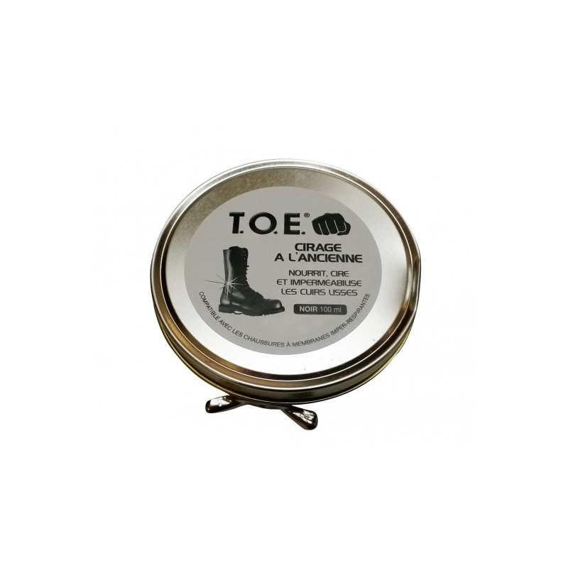 Cirage Noir 100 ML Toe Pro