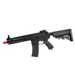 V-12 Valken Airsoft Engine Rifle - Valken V12 Optima BLOCK-I BLK
