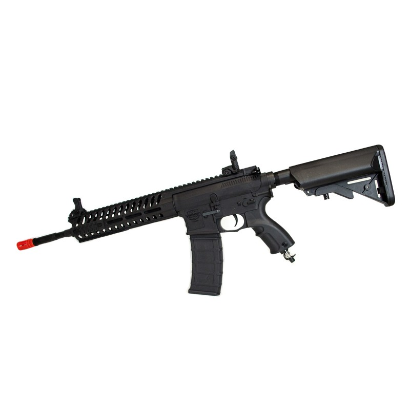 V-12 Valken Airsoft Engine Rifle - Valken V12 Optima BLOCK-II BLK