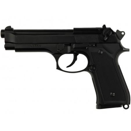 Réplique de poing Gaz M9 HW métal hop-up noir
