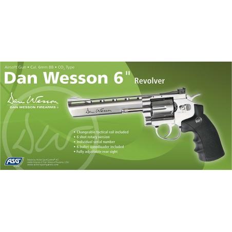 Dan Wesson 6 Chromé
