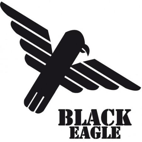 Plastron Black Eagle noir S M