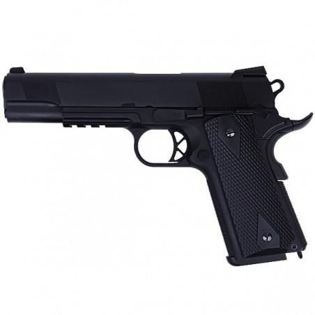 Replique airsoft Colt 1911version B - 2 Chargeurs - WE