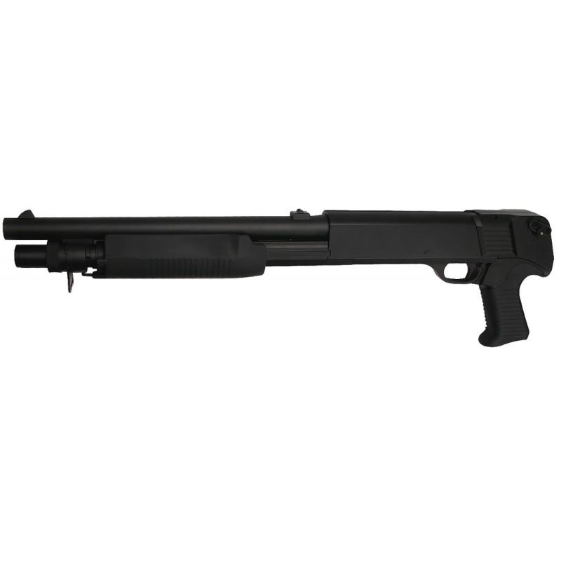 Réplique airsoft fusil à pompe SL Franchi SAS 12 Short 3-burst