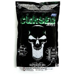 Airsoft BB, CURSED series, 0,25g, 4000 pcs. bag