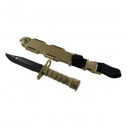 M9 Plastic Knife-TAN