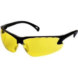 Lunette de protection, branches réglables, Jaune