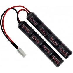 Batterie 9,6v 2000mAh, M15 cranestock, NiMH