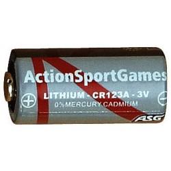 Battery, 3V, Lithium, CR123A, 1 pcs.