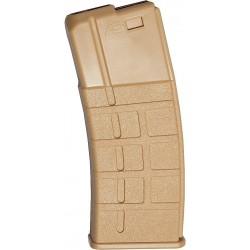 ASG 18108 Magazine Low Cap AEG 5 pcs M15/M16 85 roundslight tan