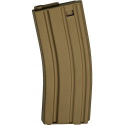 ASG 17125 Magazine Low Cap AEG 10 pcs M15/M16 30 rounds tan