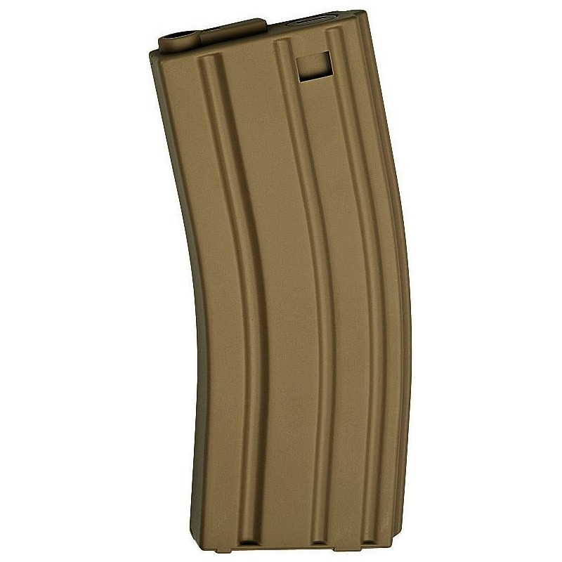 ASG 17125 Magazine Low Cap AEG 10 pcs M15 M16 30 rounds tan