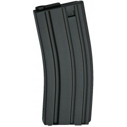 ASG 17124 Magazine Low Cap AEG 10 pcs M15/M16 30 rounds grey