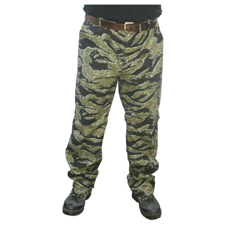 Pantalon Tactical Tiger Stripe Taille Xl Black Eagle