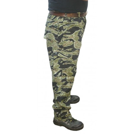 Pantalon Tactical Tiger Stripe Taille Xl Black Eagle