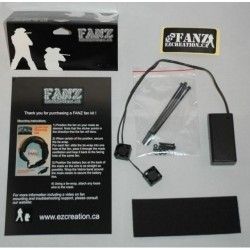 Kit double ventilateur FANZ EZ CREATIONS universel-20mm