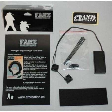 Kit double ventilateur FANZ EZ CREATIONS universel-20mm