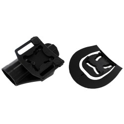Tactical HK USP Compact RH Pistol Paddle Belt Holster