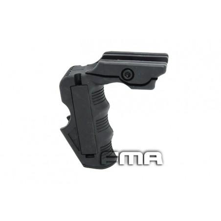 FMA MagWell and Grip for AEG / WA M4 Black [Black Eagle Corporation]