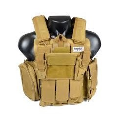 TACTICAL VESTS Stealh Black Eagle Corporation Tan