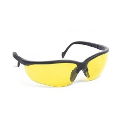 Lunette de protection airsoft, branches réglables, Jaune