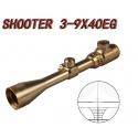 3-9x40E golden rifle scope