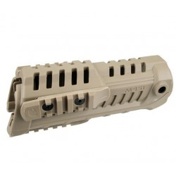 CAA M4S1 Handguard with Extra Rail Dark Earth DE