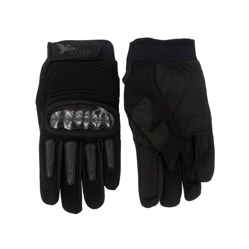 Airsoft Mil Star Black Gloves BE S