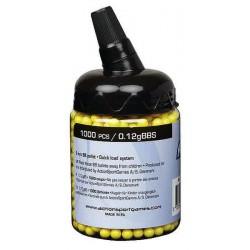 Palline airsoft 0,12 g - bottiglia di 1000 pezzi