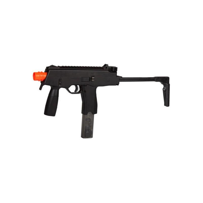Airsoft Machinegun, spring, Ingram M11,Orange tip