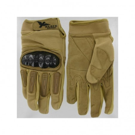 Airsoft Mil Star Tan Gloves BE XL