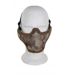 Airsoft Strike Half Face Tactical Military Bravo Strike Wire Mesh Mask(Desert)