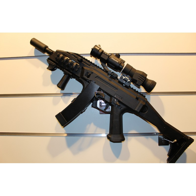 Scorpion Evo3 A1 ASG Custo Black é tornato