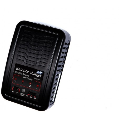 Auto-stop charger, LiPo LiFe, UK-version