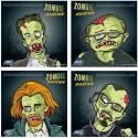 Shooting targets, Zombie, 14cm, 100 pcs