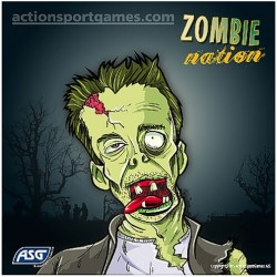 Shooting targets, Zombie, 14cm, 100 pcs