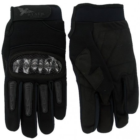 Airsoft Mil Star Black Gloves BE M
